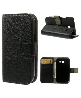 Leather Case Samsung Galaxy Trend Fresh