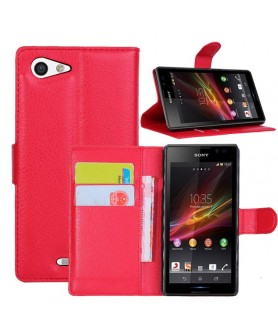 Leather Case Sony xperia E3